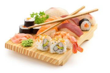Printed roller blinds Sushi bar japanese sushi plate