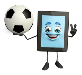 Tab Character with football