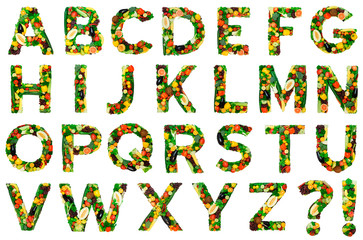 Healthy alphabet - FULL