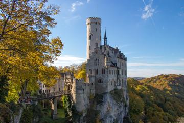 Castle Lichtenstein in Germany