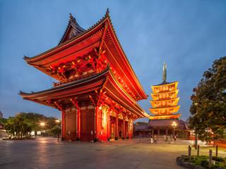 Fotomurales - Asakusa Jinja in Tokyo