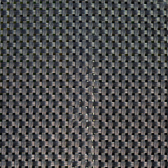 Black plastic weave as woven background texture