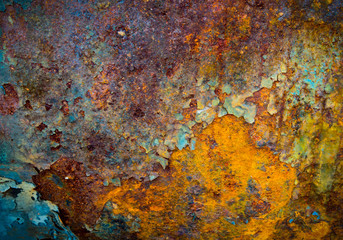 The core of corrosion Wall mural