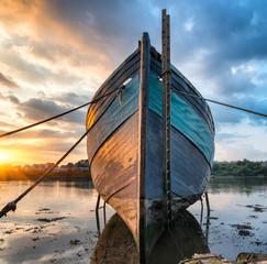 Acrylic Prints Shipwreck Old Boat