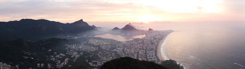 Panoramica di Rio de Janeiro