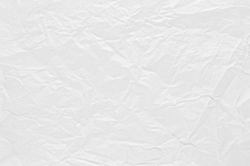 Fototapete - Crumpled or wrinkled paper texture