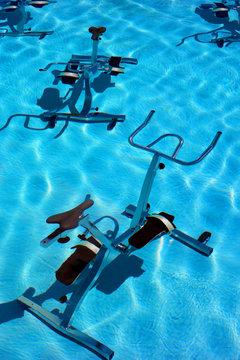 Matériel d'aquabiking