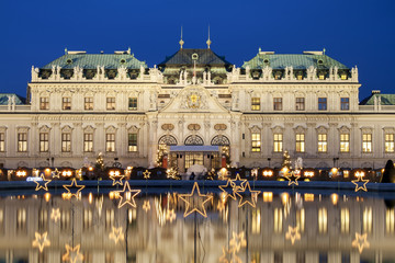 Self adhesive Wall Murals Vienna Christmas Stars In Vienna