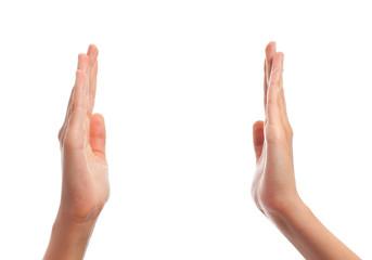 hand show gesture