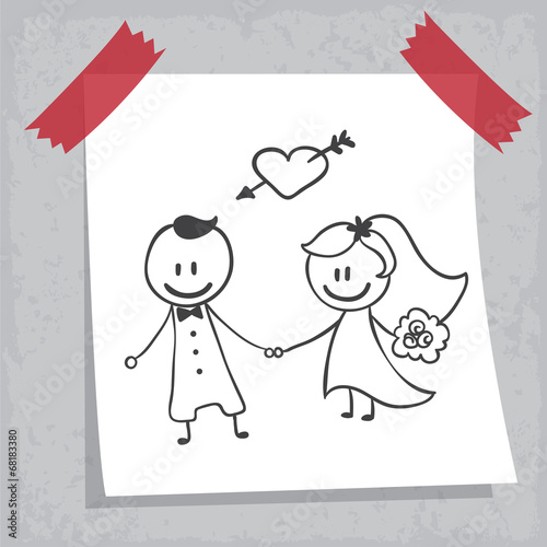 dessin mariage - Dessin Mariage