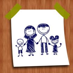 Photos Illustrations Et Vid 233 Os De Quot Dessin De Famille Quot