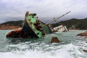 Wall Murals Shipwreck Shipwreck