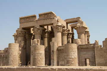 Kom Ombo temple in Egypt