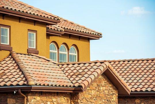Slates Roof. Home Roof