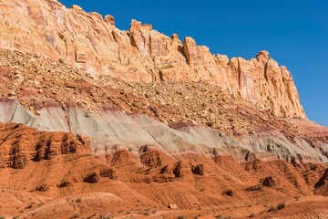 Wall Mural - Raw Utah Rock Formations