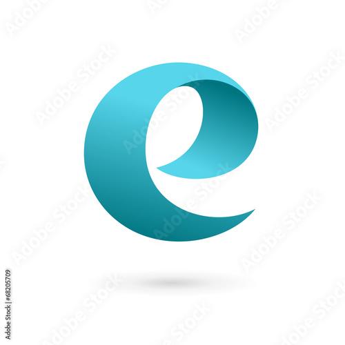 Letter e logo design template elements stock image and royalty letter e logo design template elements spiritdancerdesigns Images