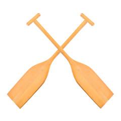 Boat oar.