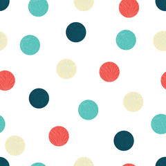 Cute sea polka dot.