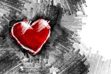 Heart pancil 15