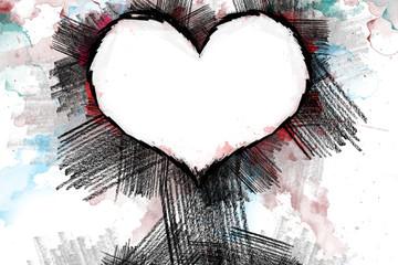 Heart pancil 22