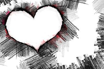 Heart pancil 23