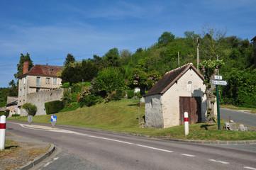 France, the picturesque village of Amenucourt