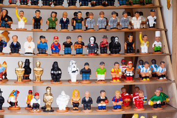 Modern caricature catalan caganers