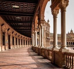 Corridor of Plaza de Espana , Spain