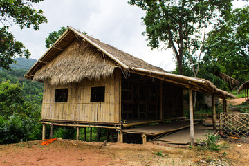 Village house in countryside , Thailand