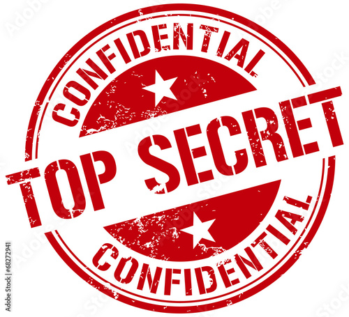 """top Secret Stamp"" Stock Image And Royalty-free Vector"