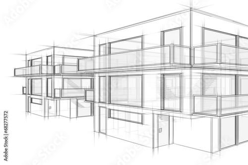 Hauser Architektur Skizze Stockfotos Und Lizenzfreie Bilder Auf