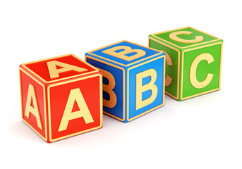 Colorful ABC cubes