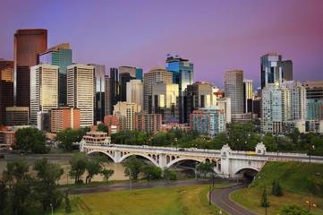 Calgary, Alberta, Canada - skyline cityscape