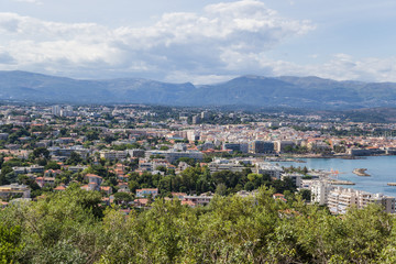 Antibes, France. View of the town