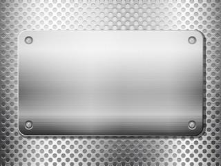 metal grid square plate