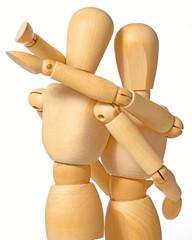 mannikin hug 2