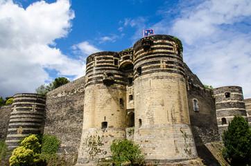 Schloss in Angers, Frankreich