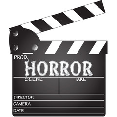 Horror Clapper Board