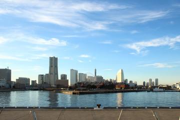 Japan landscape at Yokohama city