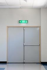 Wall Mural - fire exit door