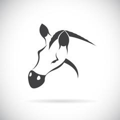 Vector image of an horse head