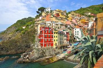 Fototapeta Cinque Terre Riomaggiore 27