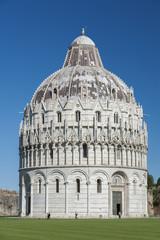 Fototapete - Baptistery in Pisa, Tuscany, Italy