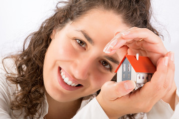 protection and home insurance concept