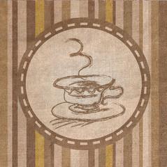 Coffee Fabric  texture