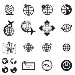World icon, vector format : credit NASA