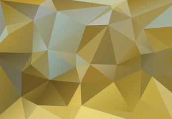 Vector triangle polygonal background in vintage style