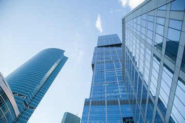 Skyscrapers of the Moscow City complex