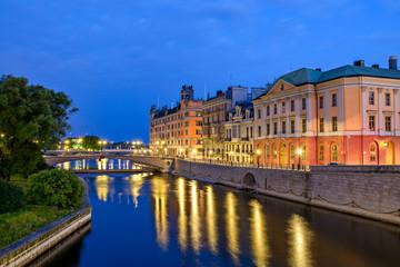 Stockholm at dawn