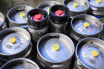 fusti lattine contenitori per birra alla spina